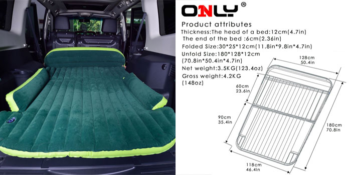 How to Turn the Back of Your SUV into a Bed