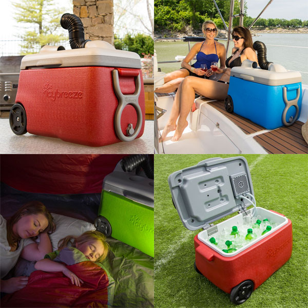 IcyBreeze Cooler & Air Conditioner